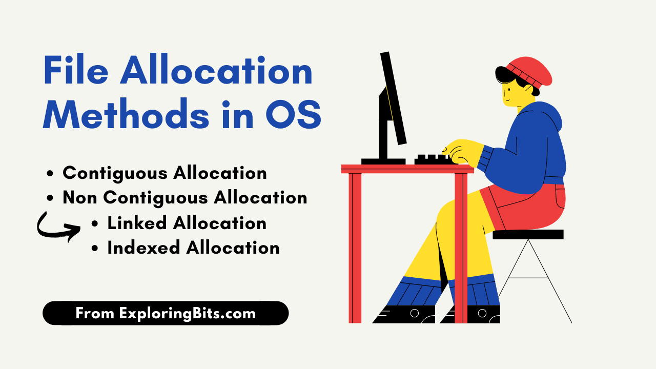 File Allocation Methods in OS [operating System]