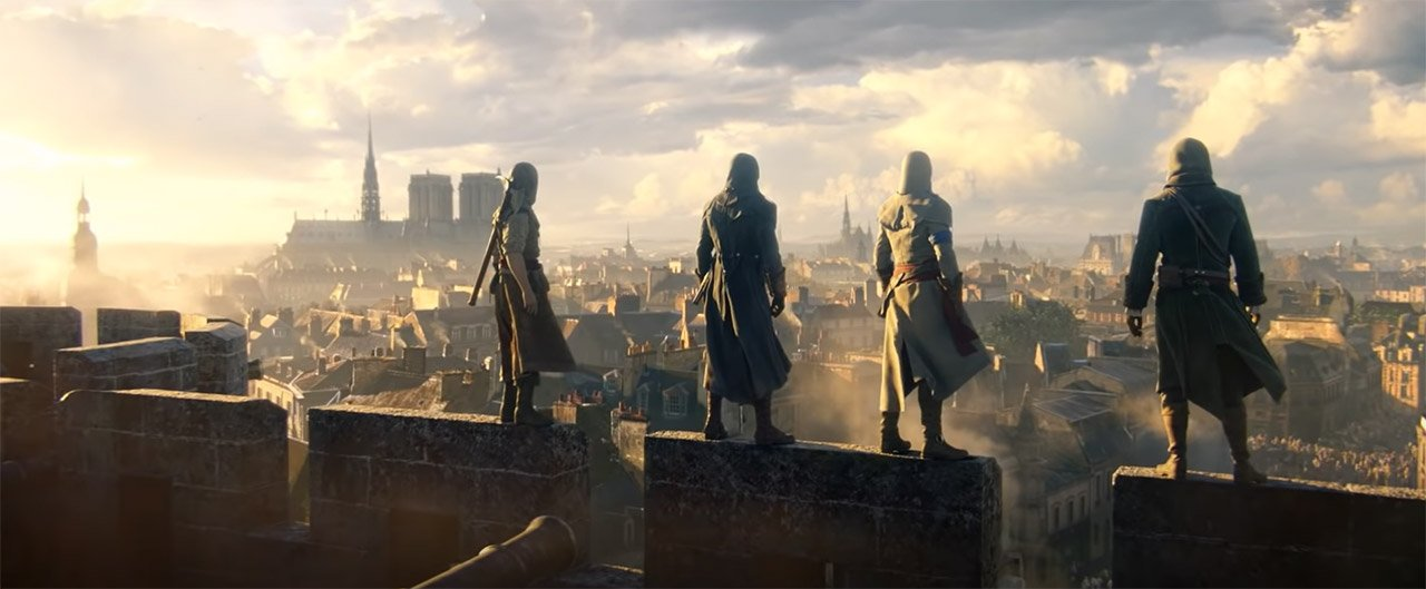 Assassin's Creed Unity Timeline