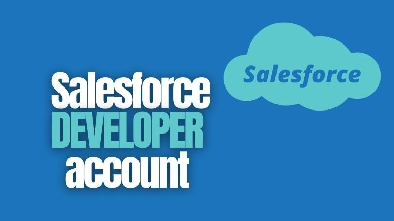 How do I create a free Salesforce developer account