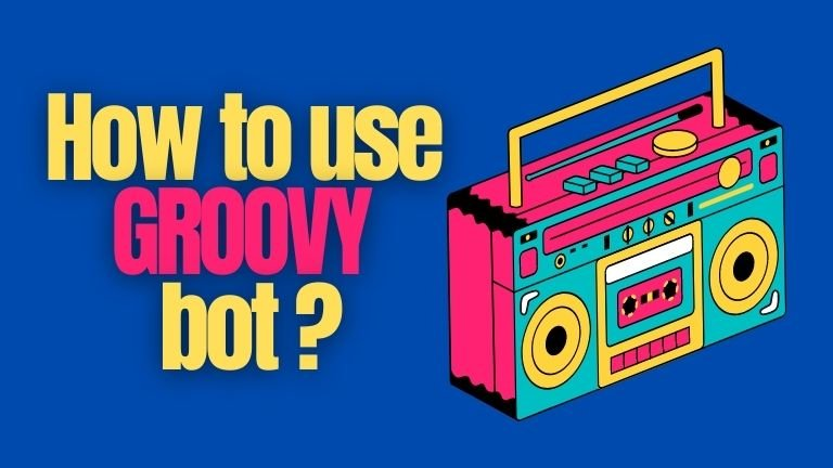 How to Use Groovy Bot